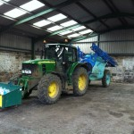 John Deere and Trailed sprayer